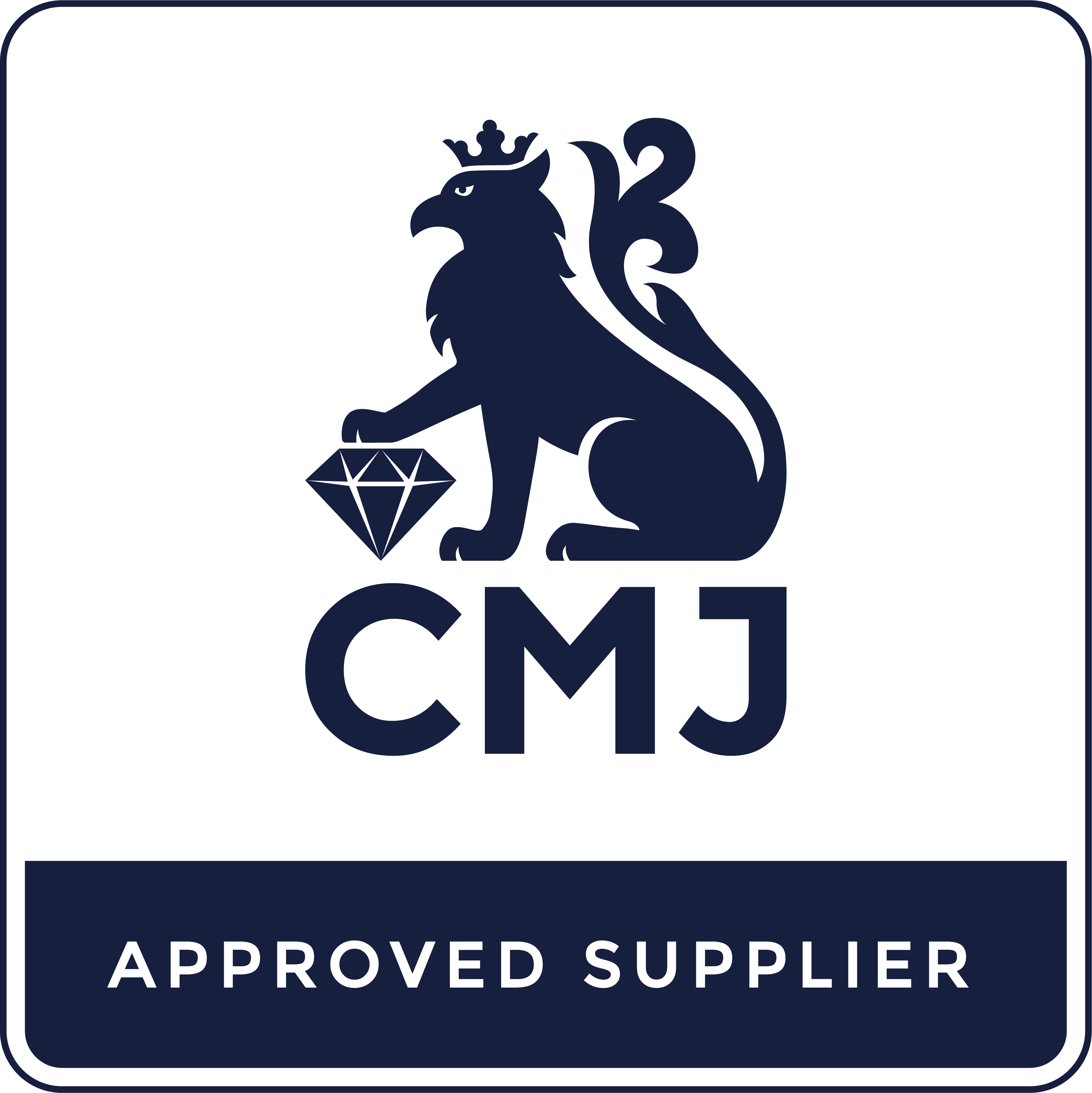CMJ Approved Supplier